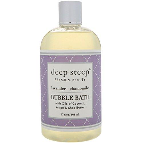 Deep Steep Schaumbad, Lavendel Kamille, 17Unzen