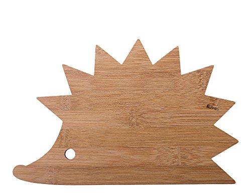 Ninelives tagliere, legno, riccio, 25x 16x 0.5cm
