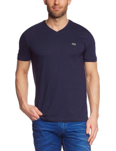 Lacoste Herren TH2036-00 T-Shirt, Blau (Navy Blue 166), X-Large (Herstellergröße: 5) (Shirt Blau Navy Herren)