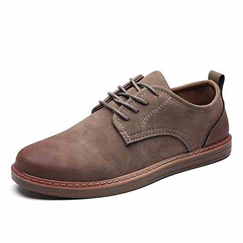 Feifei Chaussures Pour Hommes Printemps Et Automne Casual Fashion Tide Shoes 3 Couleurs (choix Multiple) (couleur: 01, Dimensions: Eu42 / Uk8.5 / Cn43) 01