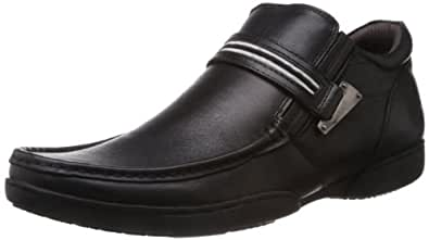 Buckaroo Men's Fiona B Black Leather Formal Shoes - 10 UK