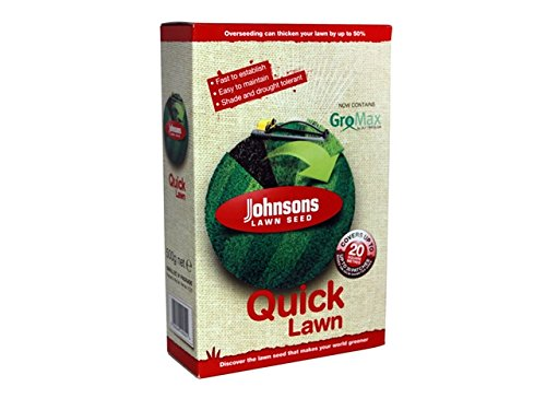 Johnsons 117796 Quick Semences de gazon 500 g