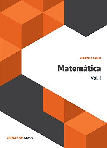 Matemática Vol. I (Currículo comum)