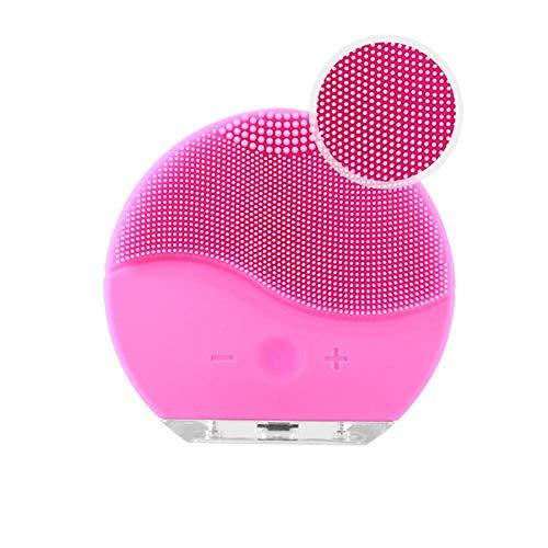 Elektrische Gesichtsreinigungsbürste, Silikon wasserdichte Gesichtsbürste USB aufladen Ultraschall-Vibrations-Gesichtsmassagegerät Hautreiniger Peeling Entferner Werkzeug 625 Usb-pc