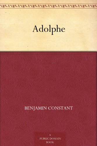 Couverture du livre Adolphe