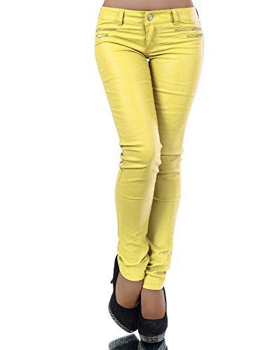 Diva-Jeans -  Jeans  - skinny - Basic - Donna Gelb L/46