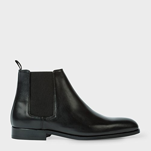 PAUL SMITH stivaletti uomo in pelle nera (44eur - 10uk)