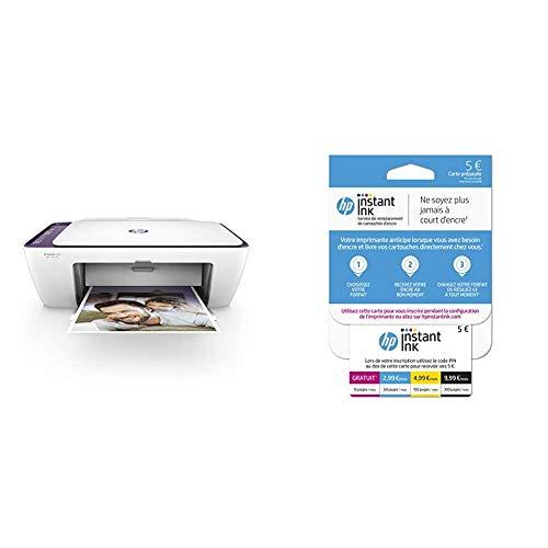HP Deskjet 2634 Imprimante Multifonction Jet d'encre Couleur (7,5 ppm, 4800 x 1200 PPP, WiFi,...