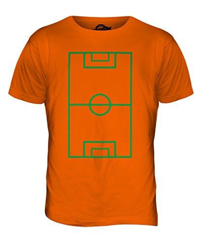 CandyMix Fußballplatz Herren T Shirt Orange