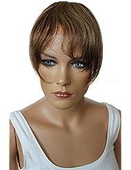 PRETTYSHOP 100% De Cheveux Humains Frange Bangs Postiche Extension De Cheveux De Diverses Couleurs H313p