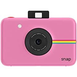 Polaroid Snap - Appareil Photo Numérique Instantané avec la Technologie d'Impression Zink Zero Ink, 10 Mp, Bluetooth, Micro Sd, 5 x 7,6 cm, Rose