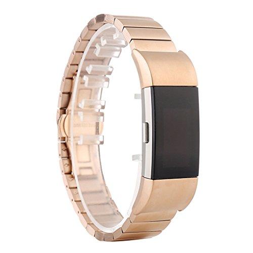 fish Smart-Korn Art Armband Stahl Armband-B¨¹gel-Uhr-Band-Metallersatzarmband f¨¹r Charge 2