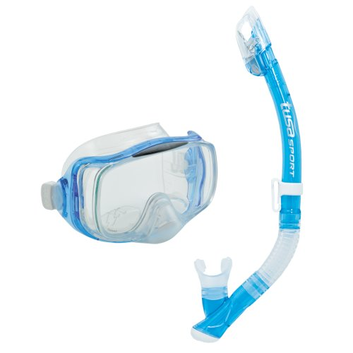 TUSA Sport Schnorchelset Imrpex 3D Dry