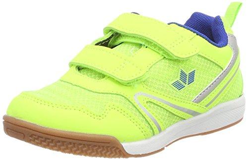 Lico Unisex-Kinder Boulder V Multisport Indoor Schuhe, Gelb (Lemon/Blau), 30 EU