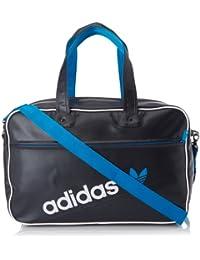 60c8c9c0cb adidas Originals Borsa sportivo - HOLLDALL PERF One Size, blu scuro/bianco