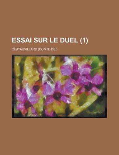 Essai Sur Le Duel (1)