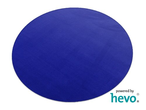 HEVO Romeo blau Teppich | Kinderteppich | Spielteppich 200 cm Ø Rund