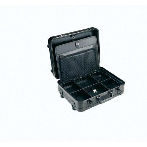 Alyco 198100–Koffer Aluminium Verstärkte alyplus 2Schächte 482x 340x 205