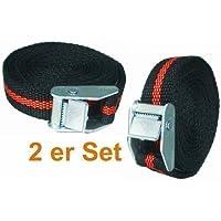 MASTERP Set Cinturón de Seguridad con Retención Tensión, Correa de Amarre, Pequeño + Ligero, 2 Piezas