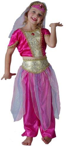 Generique Orientalische-Tänzerinnen-Kostüm für Mädchen 104/116 (4-6 Jahre)