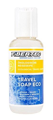 Fibertec Travel Soap Eco Reiseseife, Transparent, 100 ml