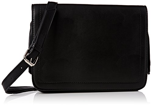 french-connection-stabstitch-blair-xbody-satchel-bolso-estilo-cartera-para-mujer-negro-negro