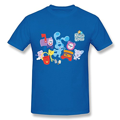 Herren's Blue's Clues T-Shirt (Blues Clues-bekleidung)