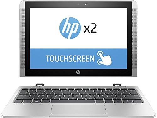 "HP x2 10 10-p013ns - Ordenador portátil convertible de 10.1"" (Intel Atom x5-Z8350, 4 GB de RAM, 128 GB eMMC, HD Intel 400, Windows 10 Home 64) Plateado natural - teclado QWERTY Español"