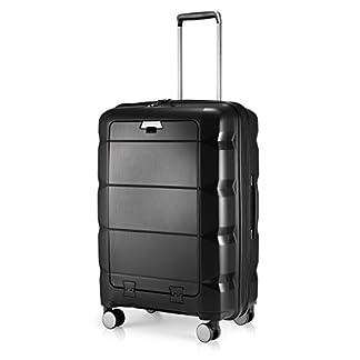 HAUPTSTADTKOFFER-Britz-Hartschalen-Koffer-Koffer-Trolley-Rollkoffer-Reisekoffer-Erweiterbar-4-Rollen-TSA