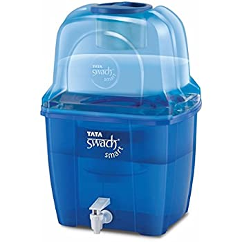 Tata Swach Non Electric Smart 15-Litre Gravity Based Water Purifier (Sapphire Blue)