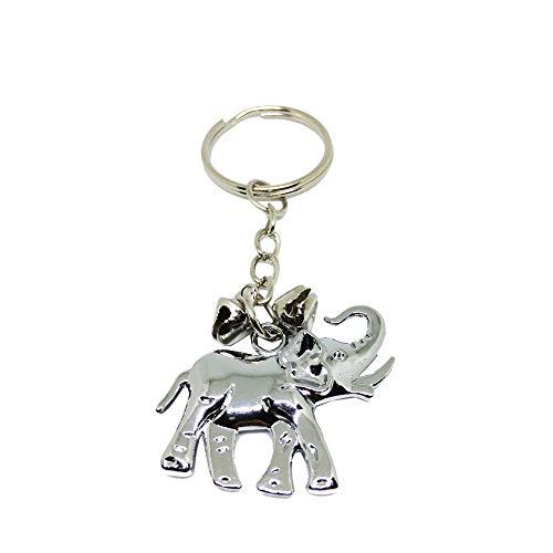 Mr.Bangkok Llavero Afortunado del Elefante, Llavero del Elefante, Regalo del Elefante, Regalo Ideal Lindo del pequeño Elefante