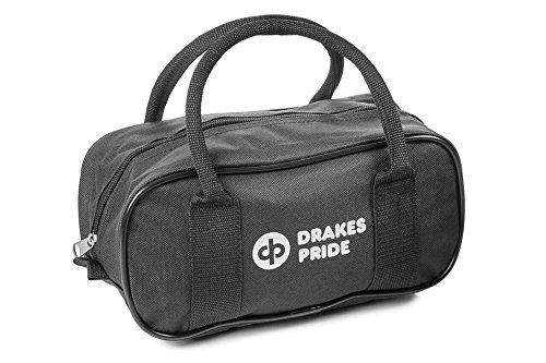 Drakes Pride Bowlingtasche für 2 Kugeln schwarz - schwarz