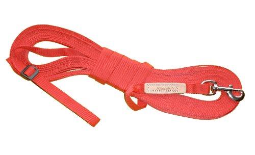 Niggeloh Hunde Feldleine, rot, 011100048