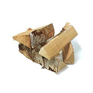 acerto 40377 Leña leña haya 25cm 20kg madera alemana lista para el horno