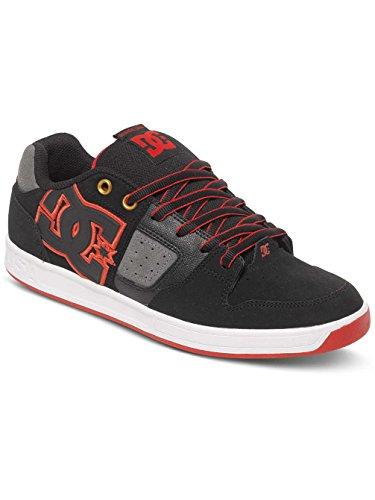 DC SCEPTOR Unisex-Erwachsene Sneakers black/grey/red