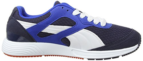 Puma Ftr Tf-Racer, Running Entrainement Adulte Mixte Blanc (Peacoat/White/Strong Blue)