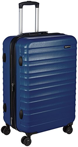 AmazonBasics Hartschalen-Trolley - 68 cm, Marineblau