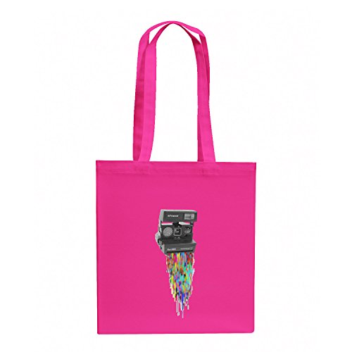 Texlab Colaroid - Stoffbeutel, pink