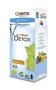 Ortis - Methoddraine detoxine bio pêche-citron - 250 ml flacon - Le drainage efficace et tout en dou