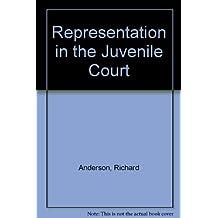 Representation in the Juvenile Court