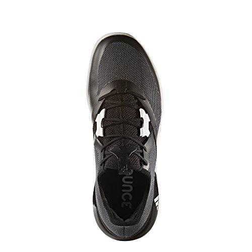 adidas Herren Adizero Defiant Bounce Turnschuhe Mehrfarbig (Negbas / Ftwbla / Gricin)