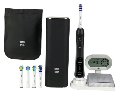 Braun Oral-B TriZone 7000 elektrische Premium-Zahnbürste (mit SmartGuide) schwarz