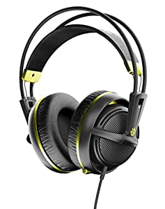SteelSeries Siberia 200, Gaming Headset, Retractable Mic, Software Management, (PC / Mac / Playstation / Mobile) -  Alchemy Gold - [Edizione: Regno Unito]