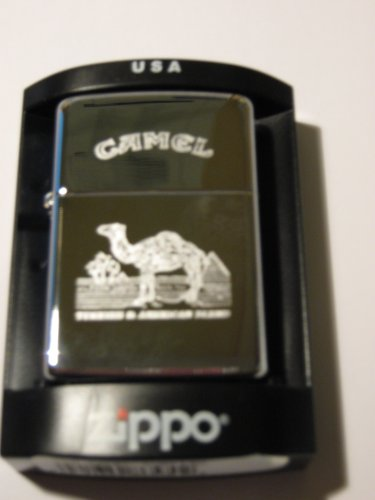 Zippo 1110011 Zippo Camel Turkish - Chrome high polished