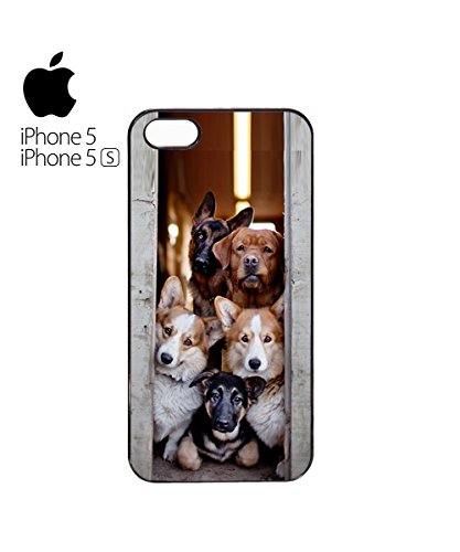 Mob Of Funny Dogs gang Mob Band Mobile Phone Case Cover iPhone 6 Plus + White Blanc