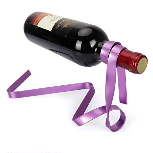 MZTYX De Persönlichkeit Magische Aufhängung Seil Wein Regal Farbe Band Halterung Handwerker Kette...