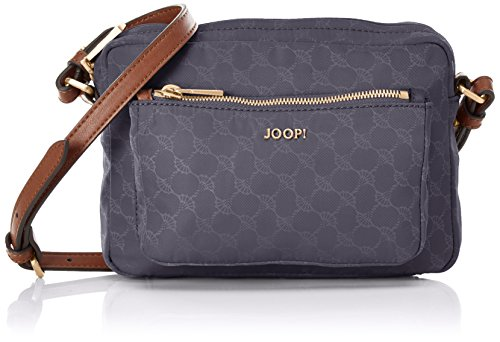 JOOP! Damen Nylon Cornflower Manu Shoulderbag Shz Schultertasche, 4x15x22 cm Grau (Grey)