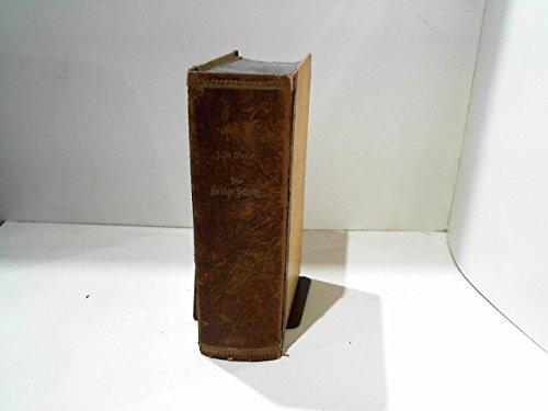 Die Heilige Schrift des Alten und neuen Testaments. Erster Theil. Die historischen Bücher des A.T.