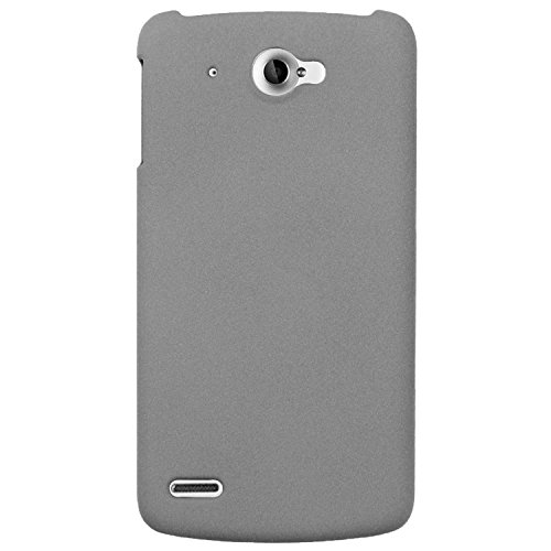 Heartly QuickSand Matte Finish Hybrid Flip Thin Hard Bumper Back Case Cover For Lenovo S920 - Retro Grey  available at amazon for Rs.299