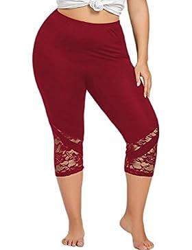 ❤️ Polainas de Talla Grande para Mujer,Pantalones Flacos de Moda Yoga Skinny Pants Yoga Sport Absolute